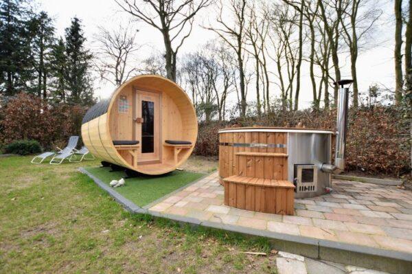 Voortsche Boshuys Sauna en Jacuzzi