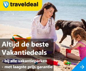 Traveldeal vakantiehuizen aanbiedingen banner